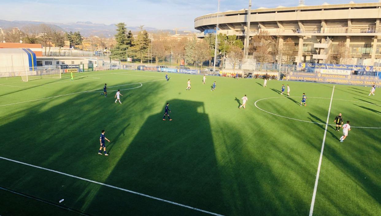 Amichevole, Primavera Hellas Verona-Berretti Padova 4-1 ...