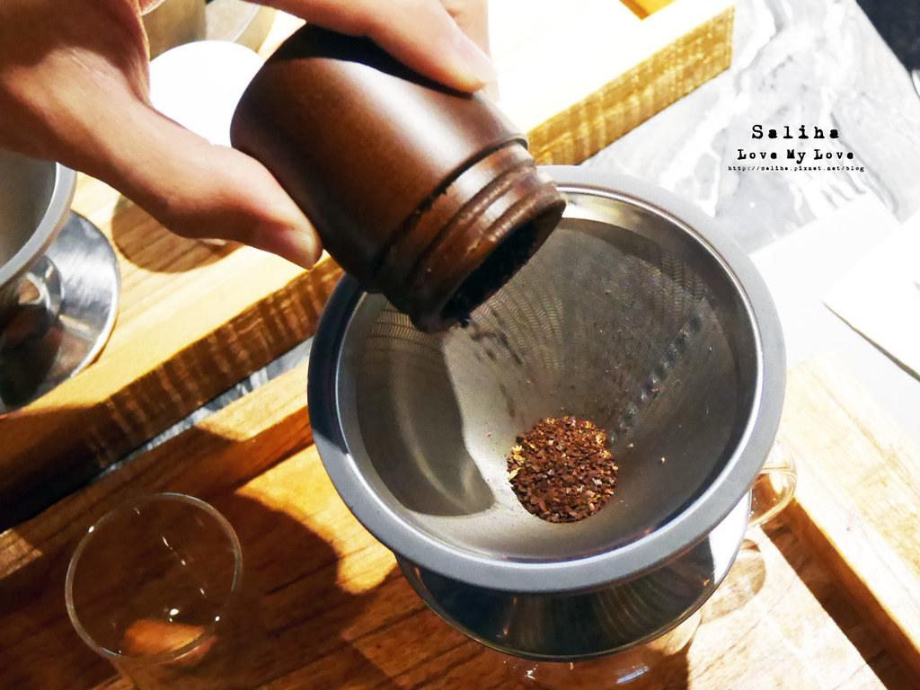 新北鶯歌老街好玩DIY推薦燧人炊事手沖咖啡體驗 (3)