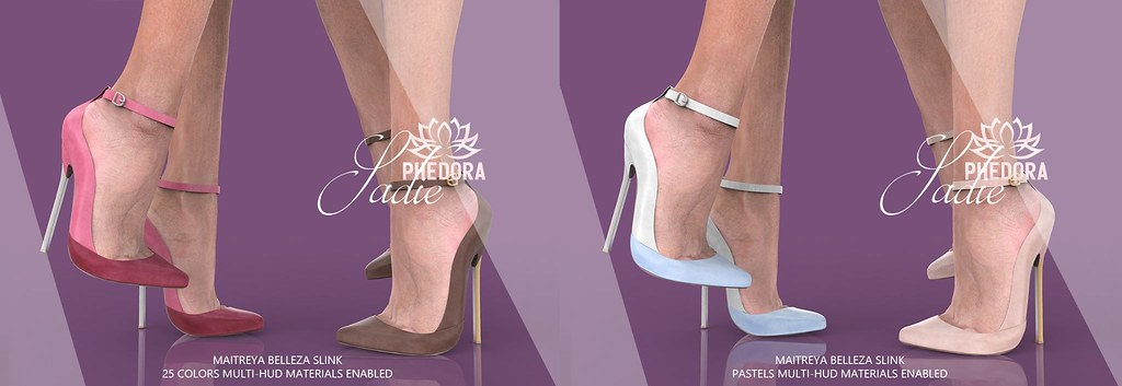 "Phedora. for The Saturday Sale – New Mainstore Release ~ ""Sadie"" Heels ♥"