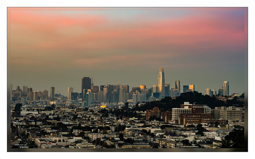sanfrancisco sunset bernalheightspark