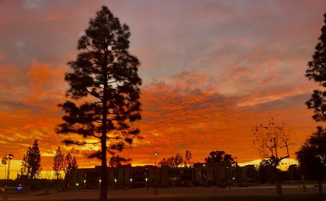 Santa Ana River Sunset - The OC