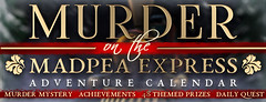 MadPea Adventure Calendar - Murder on the MadPea Express!