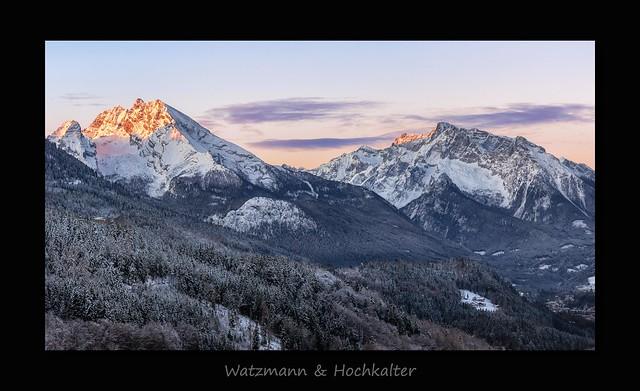 Watzmann & Hochkalter