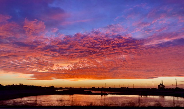 Santa Ana River Sunset - The OC
