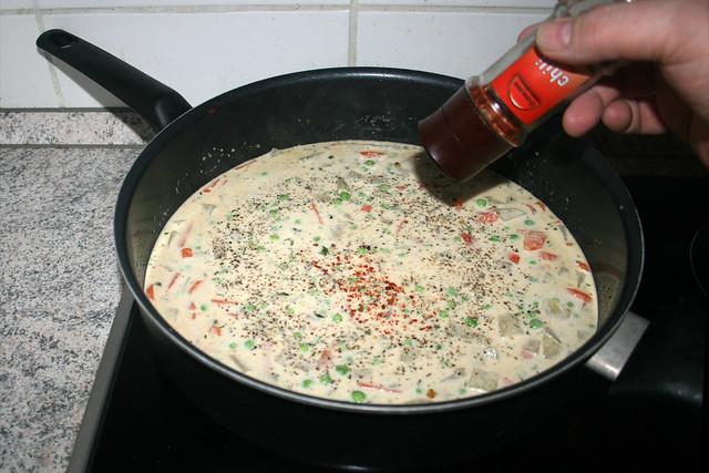 48 - Mit Gewürzen abschmecken / Taste with seasonings