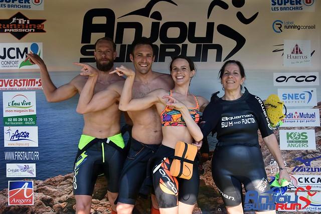 Anjou Swimrun 2018