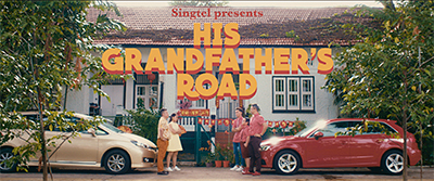 'His Grandfather's Road' by Singtel for Chinese New Year. Click on the image to play the watch the short film.