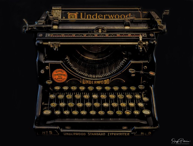 Underwood Typewriter No. 5 (1900s-1920s)