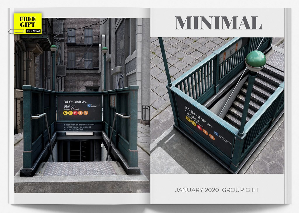 MINIMAL - Group Gift January 2020