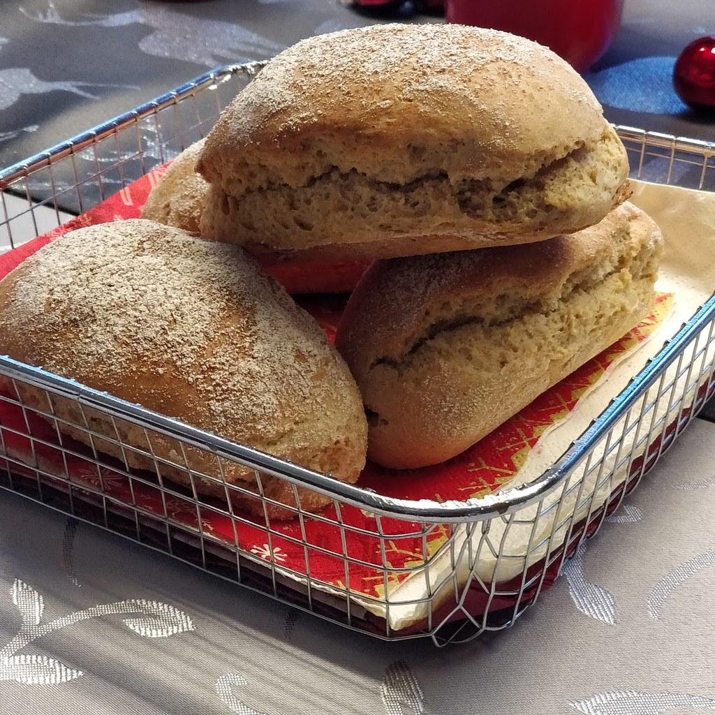Schnelle Frühstücks-Weckerl