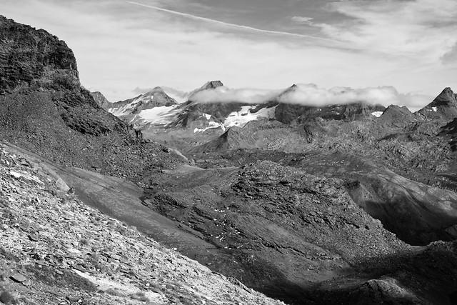 Nivolet Plan view (W Alps, Italy)