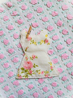 Vintage Country Dress made out of vintage flowered pillowcase