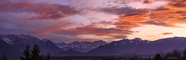 Sunset at Murnau