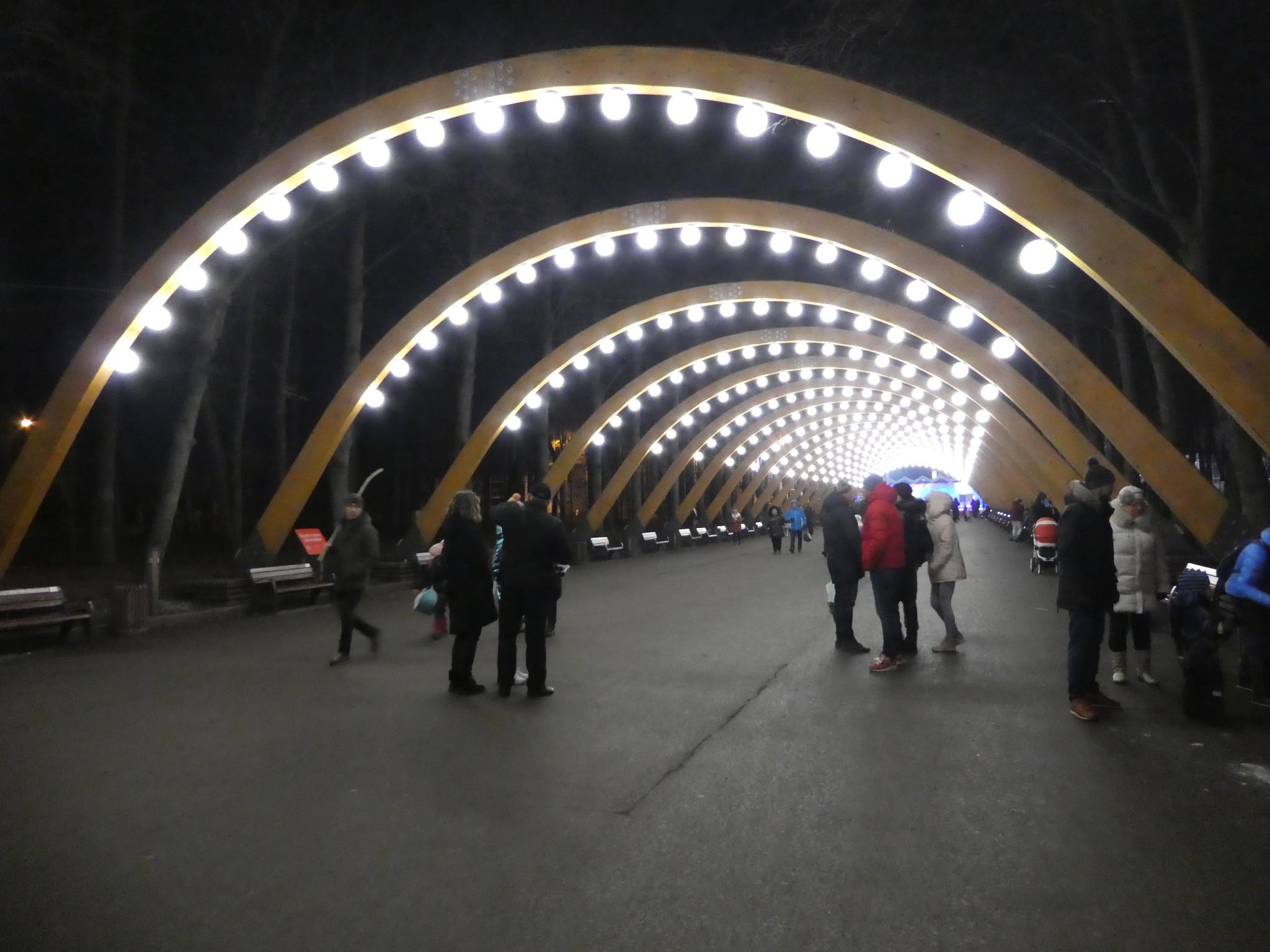 Sokolniki Park archway, Moscow