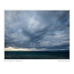 Wintery Sky, Georgian Bay