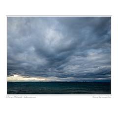 Wintery Sky, Georgian Bay