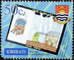 ephemera - Kiribati postage stamp 2002