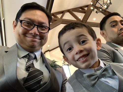 Me, Ezra, and Raymond