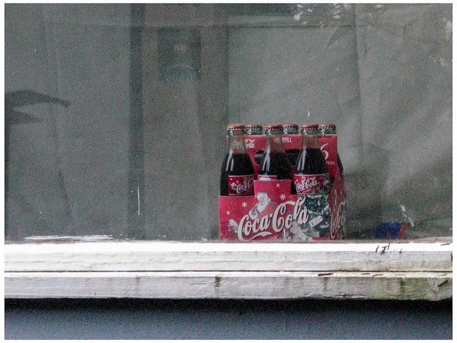 Year 'round Holiday Soda Display