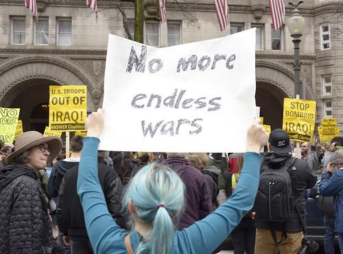 DC Protests Trump's Endless Wars 46