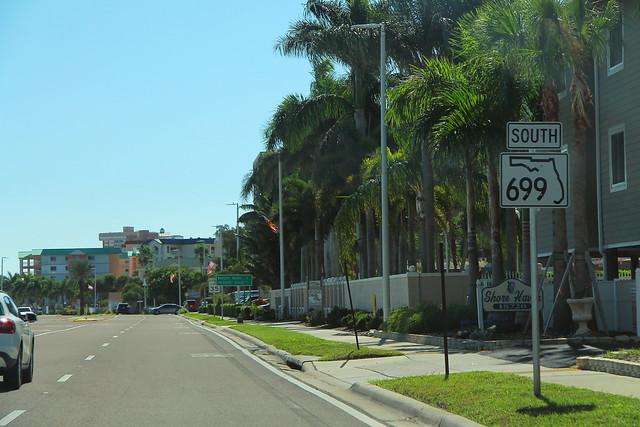 FL699 South Sign near CR694