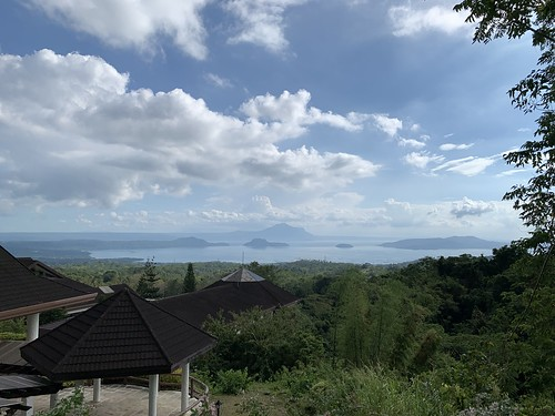 View of Taal from Tagaytay Highlands