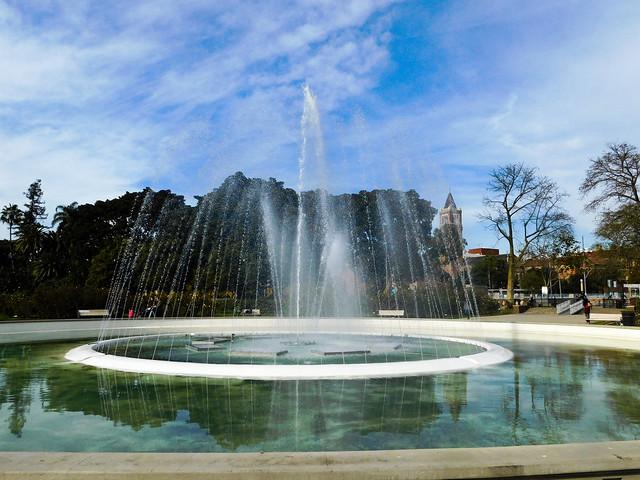 Exposition Park Fouintain