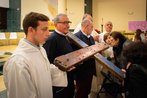 Visita Cruz Lampedusa parroquia Sta. María de la Amargura - 62