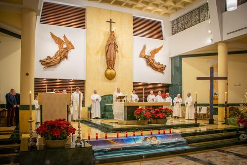 Visita Cruz Lampedusa parroquia Sta. María de la Amargura - 10