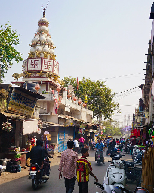 India, Bhopal - Street scenery - February 2018