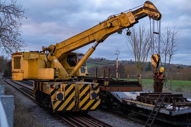 Track Maintenance at Avon Riverside
