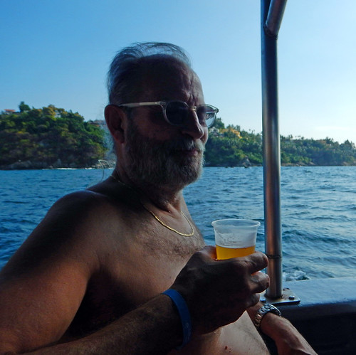 All the beer you can drink is included on our 2 and a half hour cruise throughout the bays of Manzanillo, Mexico