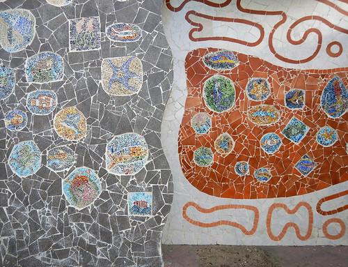 A tile mural in Manzanillo, Mexico
