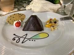 Reception Fare: Toblerone Cake