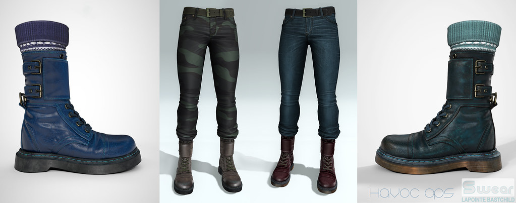 L&B@ TMD:Jan Havoc Ops Boots & Tucked Jeans