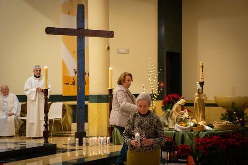 Visita Cruz Lampedusa parroquia Sta. María de la Amargura - 45