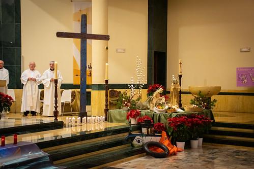 Visita Cruz Lampedusa parroquia Sta. María de la Amargura - 41