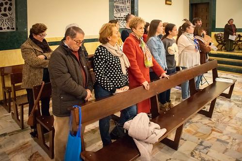 Visita Cruz Lampedusa parroquia Sta. María de la Amargura - 15