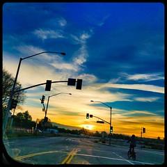 Moffett South Gate Sunset