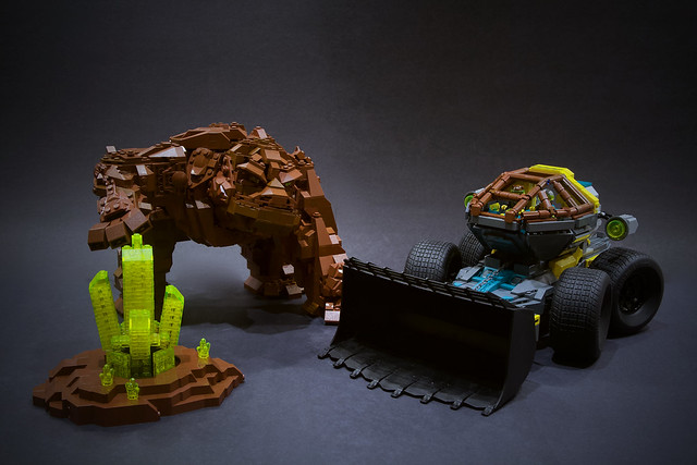 Lego Rock Raiders - UCS Loader Dozer