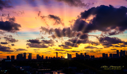 sunrise city cityscapes colors clouds veryearly morning