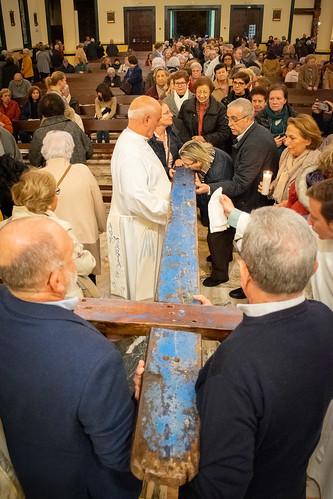 Visita Cruz Lampedusa parroquia Sta. María de la Amargura - 68