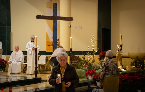 Visita Cruz Lampedusa parroquia Sta. María de la Amargura - 44