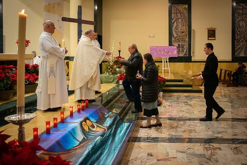 Visita Cruz Lampedusa parroquia Sta. María de la Amargura - 27
