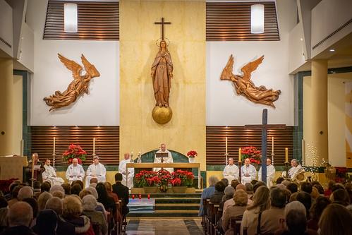Visita Cruz Lampedusa parroquia Sta. María de la Amargura - 17