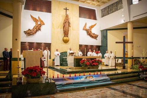Visita Cruz Lampedusa parroquia Sta. María de la Amargura - 14