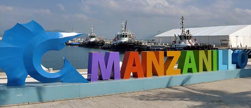 Manzanillo's colourful sign featuring a sailfish