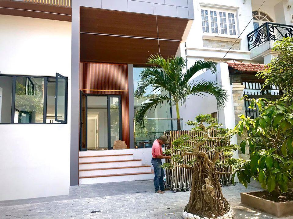 Cho thuê căn nhà đẹp 160m2 mới xây trong khu biệt thự Bình An đường Trần Não ở Quận 2