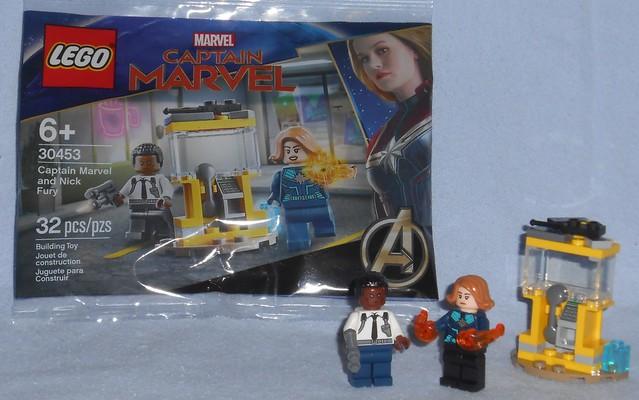 Lego - 30453 Cap Marvel & Fury