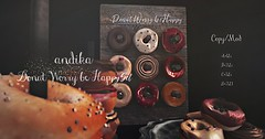 andika[Donut Worry be Happy]Set@ The Food Court